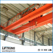 LIFTKING brand certificate mobile workshop overhead double girder overhead bridge electric construction lifting equipment crane