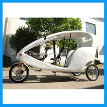 EU Standard Best Selling Three Seats Tuk Tuk Style Classical Electric Pedicab