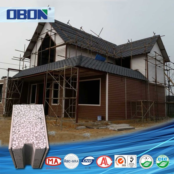 Obon construction material building ready made walls sound absorbing sandwich panels alternative - Readymade wall partitions ...