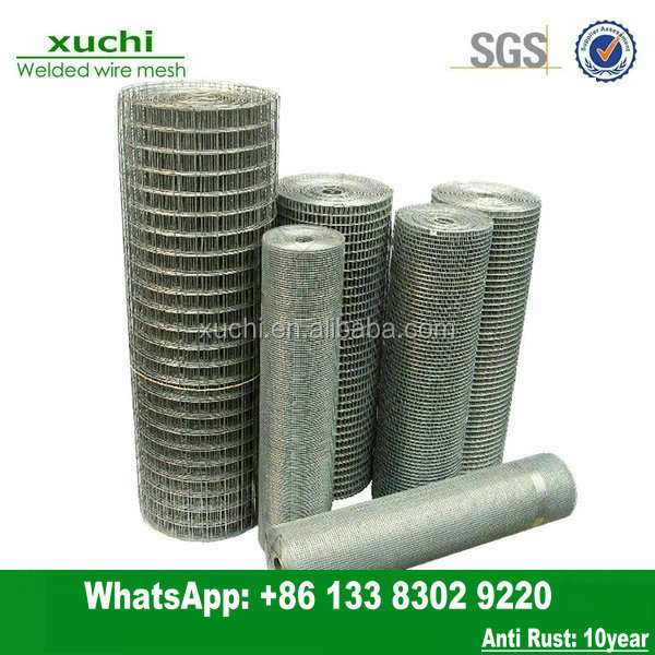 high quality galvanized mesh heavy zinc coated welded wire mesh