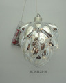 Glass Pineal shaped LED light Christmas decoration