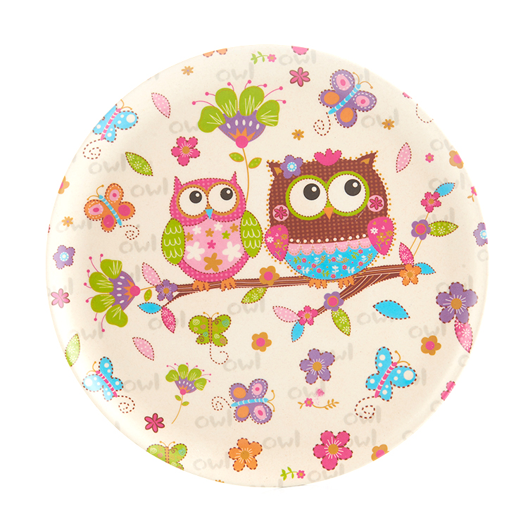 Colorful new pattern Food grade Dinner decorative plate