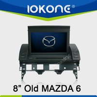 2din HD 480*800 old Mazda 6 Car DVD Radio with GPS