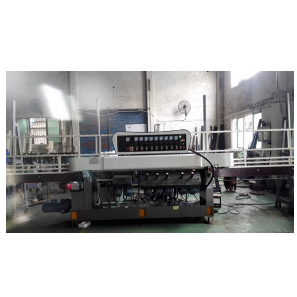 JFE-9540 popular glass 45degree and straight line edging machine with CE