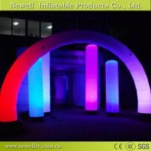 Excellent quality inflatable led pillars columns With OEM logo
