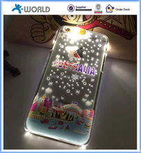 2016 new design city glowing Illuminated Cell Phone Case