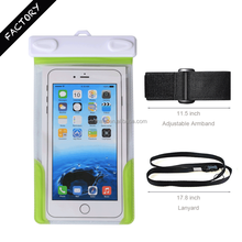 Universal Waterproof Sleeve for Phone iPhone with IPX8 certificated to 25m