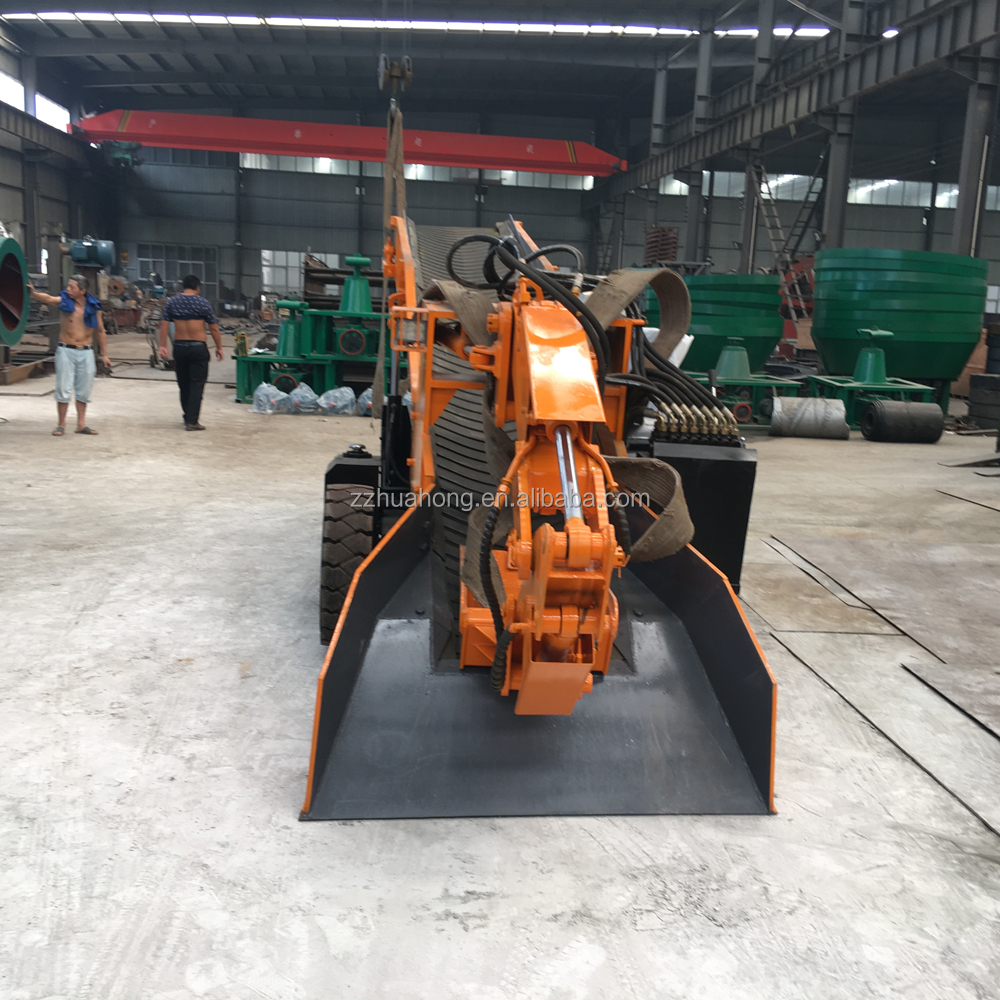 Mini excavator,small tunnel digging machine,mucking rock loader