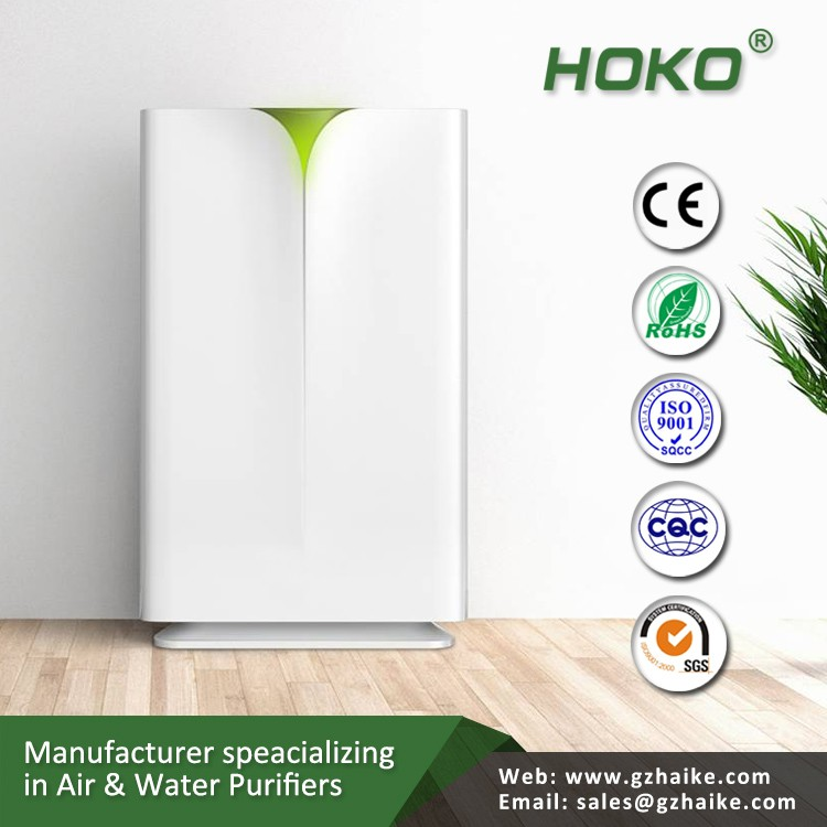 HEPA filter air purifier with cold catalyst function for fresh air