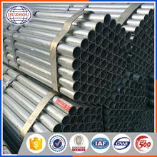 Astm A500 Low Carbon Steel Welded Circular Galvanized Steel Tubing