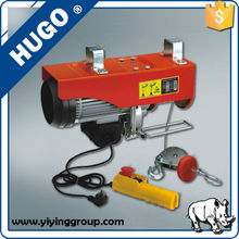 Factory price PA 100/200 HGS-B mini electric wire rope hoist 100kg