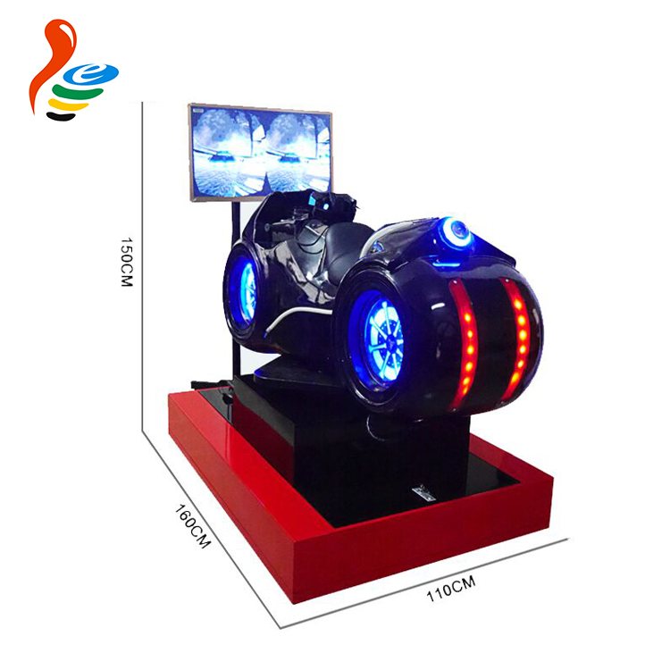 China supplier racing game simulator motorcycle racing simulator motor racing game