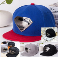 2015 Top Selling Flat Bill Baby Hat Wholesale Superman Baby Infant Baby Hat Pattern