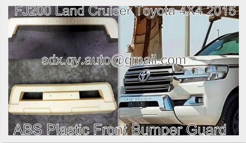 2016 New Land Cruiser FJ200 Toyota 4x4 abs plastic car front bumper