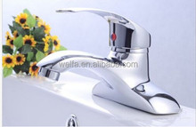 Modern Brass Chrome Deck Mounted Hot Cold water Bathroom Toilet Mixer Faucet Tap