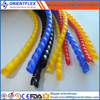 Spiral Flexible Polyethylene Cable Protection Sleeve /spiral wrapping sleeve