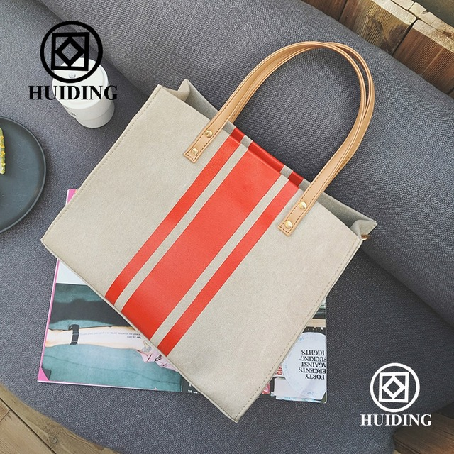 2016 Fashion Lady Canvas Bag Online Shopping Baigou Factory Wholesale Cheap Designer Women Messager Bag Handbag