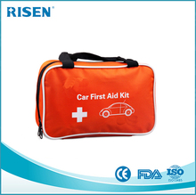 Hot selling Nylon Material Multi-funtion car first aid kit bag,emergency kit,wholesale first aid kit for car