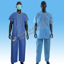 Free samples !fashionable medical scrub suits,non woven medical scrubs philippines