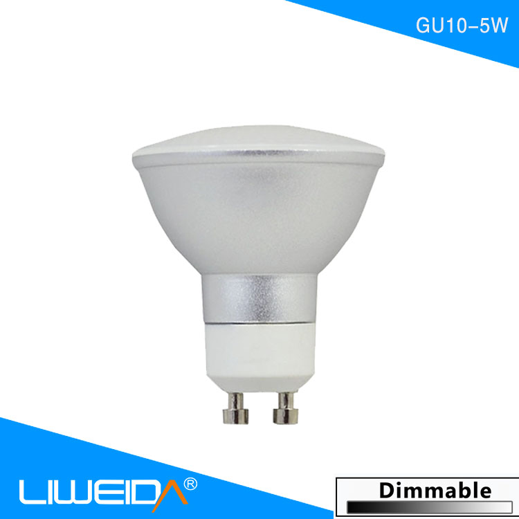 new style ce rohs gu10 led spotlight led diameter 60mm gu10 dimmable gu10 mini led