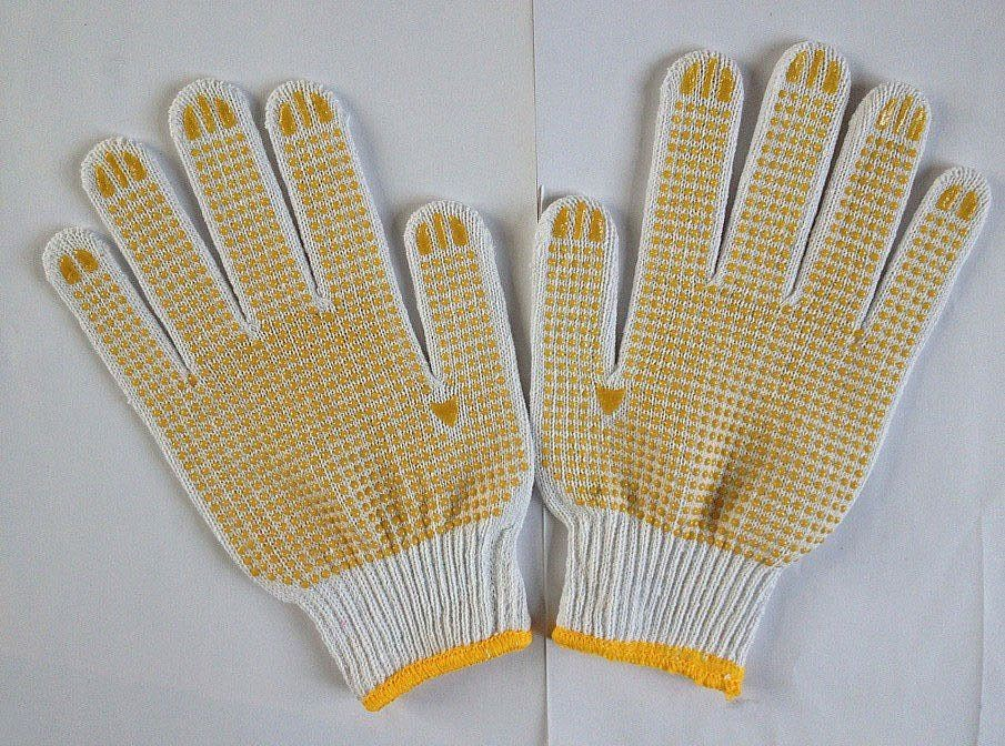 Brand MHR Cotton and Silk Liner Dotted Glove