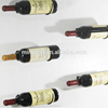 Small Metal Wine Bottle Rack Creative Home Decoration Wall Mounted Wine or Liquor Bottle Hold Rack