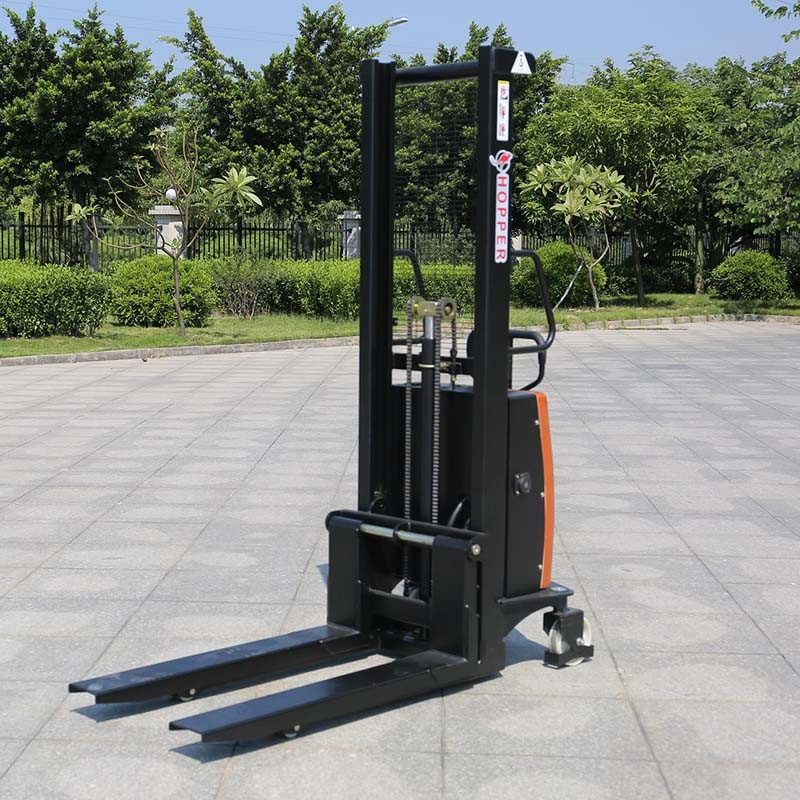 High Quality 1.0ton Electric Manual Forklift Manual Pallet Stacker (CDSD10)