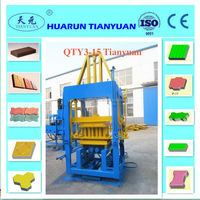 Alibaba hot qt 3-15 cement brick making tools/ block making machine m7mi