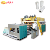 2017 TL pe plastic cast stretch film extrusion line equipment wrapping machine