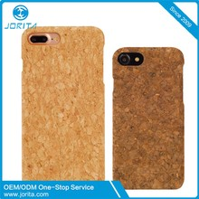 Snap On Hard Natural Wood Cork Case for iPhone 7