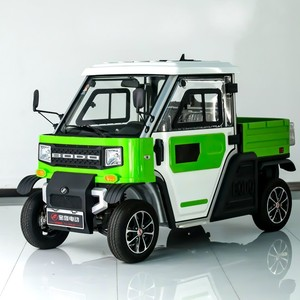 China Bodo brand mini electric pickup car truck for sale electric car factory