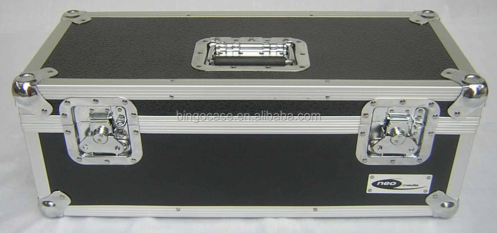"7"" 45's Single Singles Aluminum Storage Case Vinyl Record DJ Tough 300 Secure lockable Collectors Collection Box"