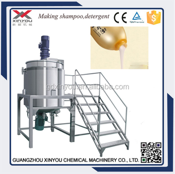Liquid Mixing machine for shampoo, body wash, detergent