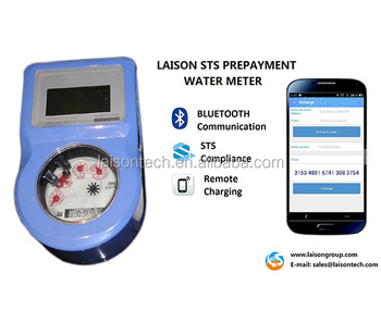 STS bluetooth prepaid water meter