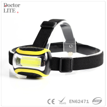 1 Watt Hunting Running Head Light COB LED Headlamp with Adjustable Strap