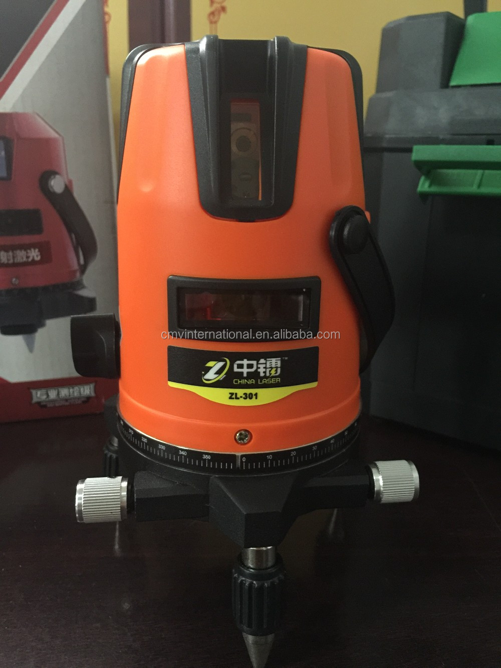 1V1H 635nm lines construction rotary Laser Level 360 red