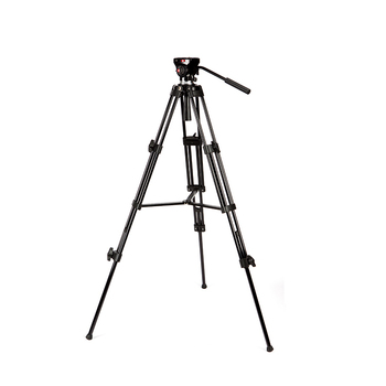 Sunrise Professional Aluminium Digital Camera Video Tripod Stand with Fluid Head Photography Accessories