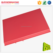 Customized Powder Coating 4x8 Sheet Metal Trimming Perforated Metal Sheet Process