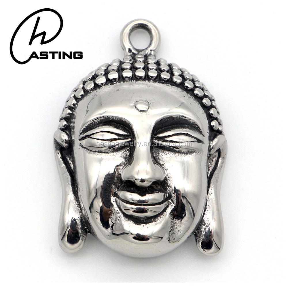 Stainless Steel Jewelry Wholesale Buddha Pendant Charms