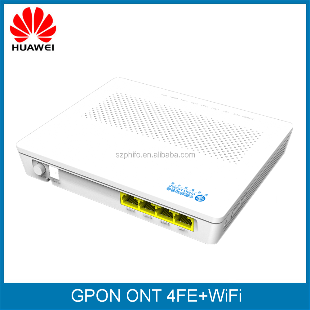 Original Huawei GPON terminal ONT HG8345R,with 4FE+WiFi,SIP,H.248 double
