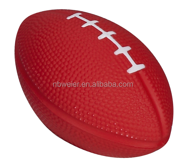 5.5x8.4cm soft toy shape PU anti stress American football/PU anti stress American football/mini toy PU foam American football