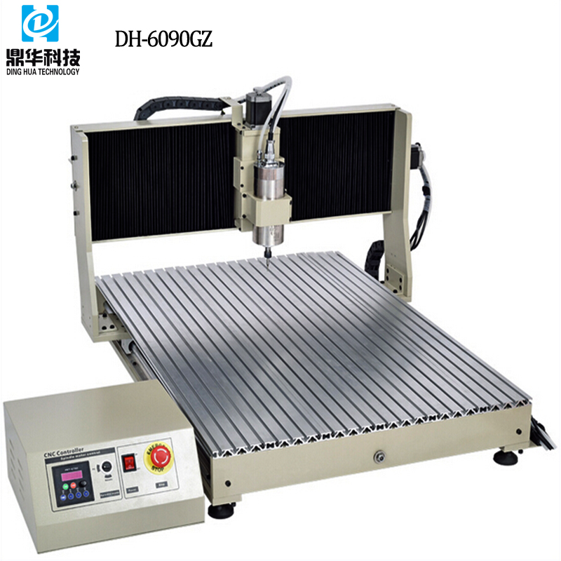 Dinghua DH-6090GZ 4 axis tabletop cnc router in cnc machine manufacturing companies