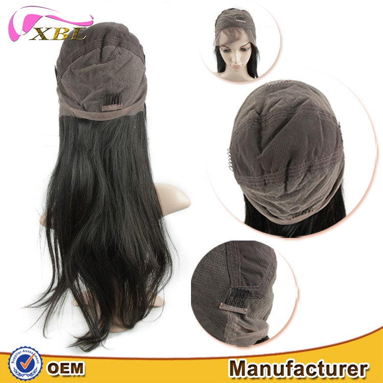 Wholesale Raw Unprocessed 100% Virgin Brazilian Remy Temple Human Hair Full Lace Wig