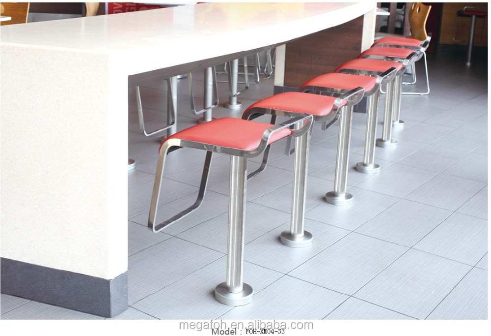 Modern restaurant bar counter and chairs for sale,FOH-XM04-33