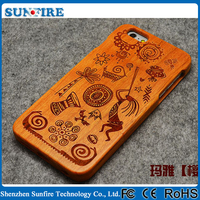 For iphone6 case wood, mobile cover wood, wood phone case