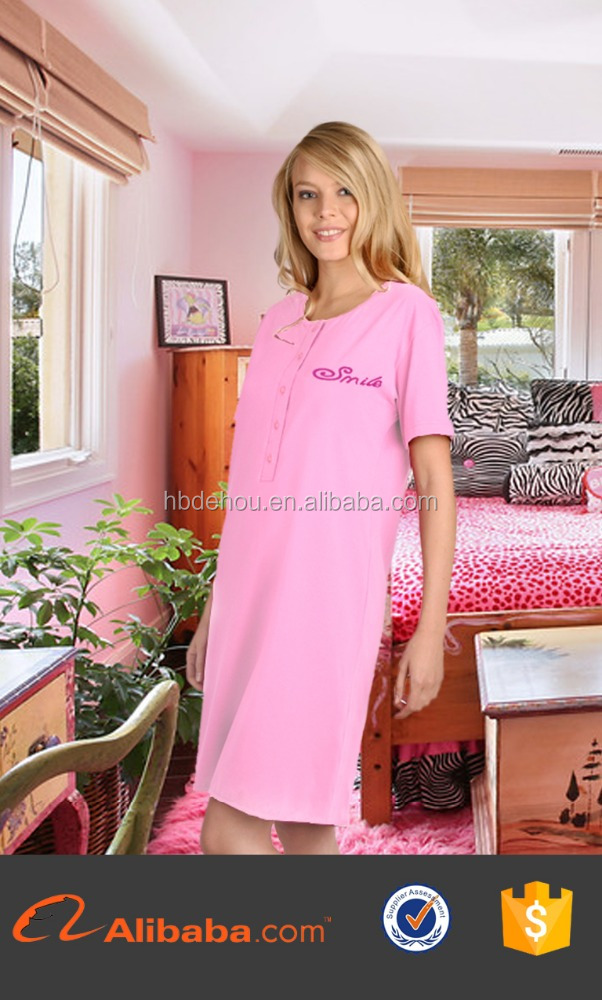 2016 sexy nighty dress picture women sleepwear nightgowns china factory