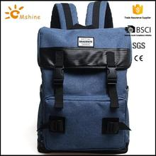 Good quality waterproof durable pvc backpack with mesh pockets
