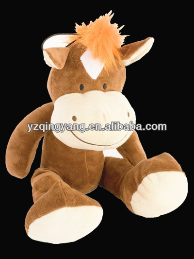 2014 new arrival fashion design stuffed animal soft plush horse child toy