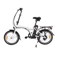 china battery powered folding electrical bicycle foldable motorised electric bike product for sale