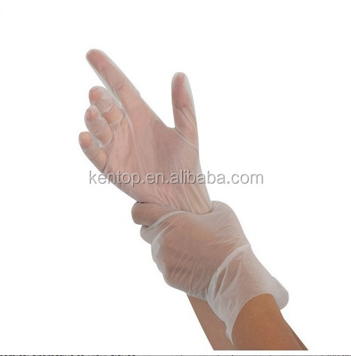 Disposable plastic medical examination TPE gloves/ Replace of latex gloves